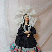 SALE Spanish Lady Doll-Fabulous Costume Doll