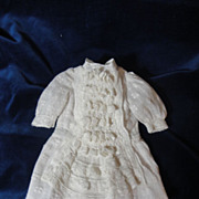 SALE Divine Antique Bru Doll Dress From France
