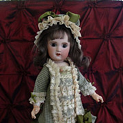 SALE Fabulous Doll Costume-Olive Check Cotton