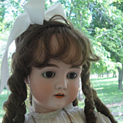 "Heavenly Antique German Girl-34"" Walkure"