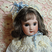 SALE PENDING Stunning Jumeau Doll-Brown Eye Beauty