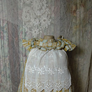 SALE Very Sweet Old Doll School Dress