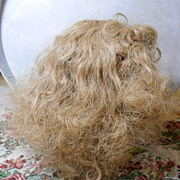 Very Full Thick Vintage Doll Wig-size 15
