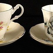 Royal Ascot & Royal Grafton Bone China Tea Cup & Saucer