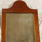 Antique Queen Ann style Courting Mirror in Great Shape!