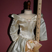 SALE Vintage fashion doll gown factory untagged Large
