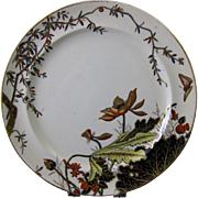 SALE George Jones English Victorian Transferware Plate - 1881 (2 available)