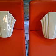 Pair of Art Deco Wall Pockets