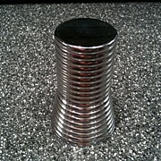 Chrome Armco Table Cigarette Lighter