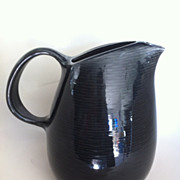 Charcoal Raymor Contempora by Steubenville Water Pitcher