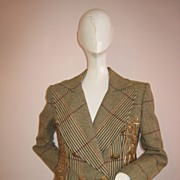 SALE Vintage Christian Lacroix Couture Paris Walking Suit Fabulous!!