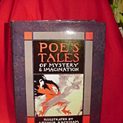Facsimile Edition 1986 of Poe's Tales of Mystery and Imagination, Illustrated by Arthur Rackha