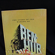 Movie Program, &quot;The Story of the Making of Ben Hur&quot; from Metro-Goldwyn-Mayer
