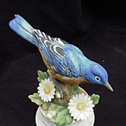 Vintage Napco Bisque Blue Bird