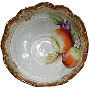 Luster Decorated Fruit Bowl, Japan