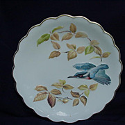 "Royal Worcester ""The Birds of Dorothy Doughty Dessert Plates"", Kingfisher & Autumn B"