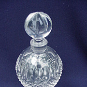 Waterford Pedestal Perfume, Colleen Pattern, Irish Crystal