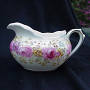 Royal Albert English Bone China Cream Pitcher, Serena Pattern, 1940s