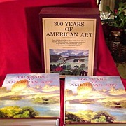 300 Years of American Art, 2 Volume Set in Slip Case