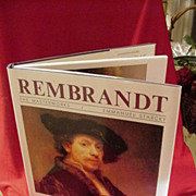 1990 Book on Rembrandt by Fernand Hazan, Random House