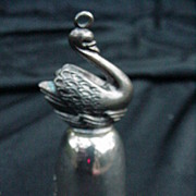 Reed & Barton 12 Days of Christmas Silverplated Bell, Swan Swimming