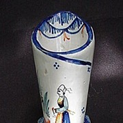 Quimper Posy Holder or What-Not, Hand-Painted, HR