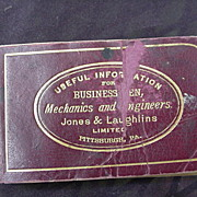 Miniature Reference Book:  Useful Information for Businessmen, Mechanics, & Engineers 1888
