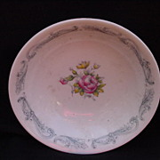 Royal Doulton English Bone China Chantilly Rose Bowl