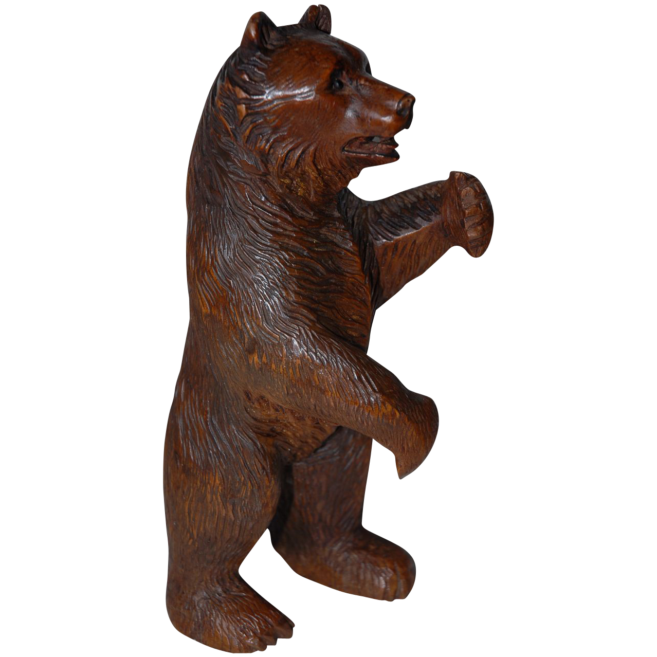 Huge Antique Victorian era Black Forest Bear Hand Carved  : 12851L from www.rubylane.com size 1278 x 1278 png 1089kB