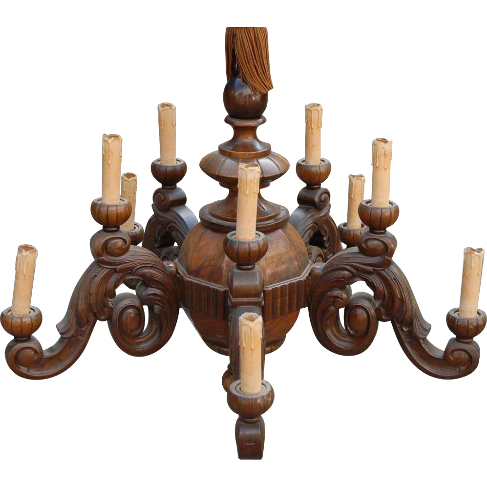 Filename: 1294.1L.jpg - Antique Wood Chandelier Images - Reverse Search