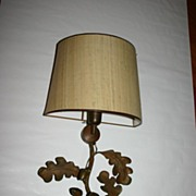 SALE An Old Bronze Leaves 1-light Wall Lamp