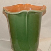 1948 Advertising Green Rookwood Vase for Western Southern Life Insurance Co