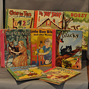 Eight Wonderfully Illustrated  � The Little Color Classics� Books Dated 1939 to 1943