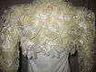 1950s Vintage Wedding Dress Ivory Bolero Jacket Size Small