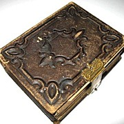 Victorian Era Pennsylvania Photo Album with Tin Types & CDVs