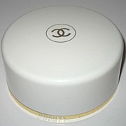 Vintage Chanel No 5 Bath Powder 8oz Container with Puff