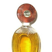 Vintage Vera Mandalay Perfume Large Tall Glass Bottle