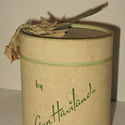 Vintage Ann Haviland Blue Hyacinth Talcum Powder