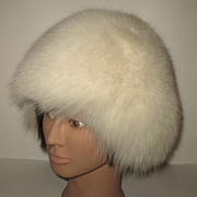 1970s Vintage Shadow Fox Hat
