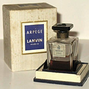 Vintage Lanvin Arpege Extrait in Original Box