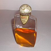 Vintage Yardley of London Lotus Cologne Bottle