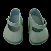 Vintage Original Terri Lee Blue Doll Shoes also fit Ideal Toni P93