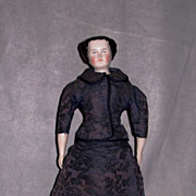 15� Flat Top China Doll ~ Original Body and Clothes, Extra Dress