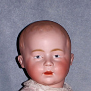 17� Swaine Character Baby, Marked DI with Green Stamp