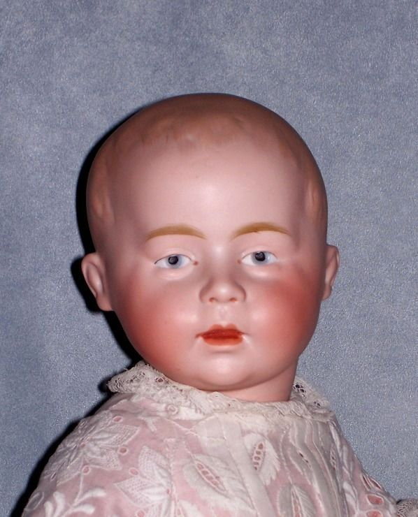 "17"" Swaine Character Baby, Marked DI with Green Stamp"