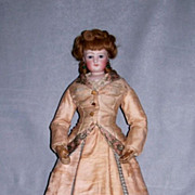 18� French Fashion ~ Wood Body ~ Antique Costume