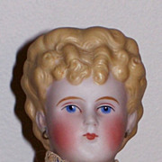 13� German Parian-type Lady ~ All Antique