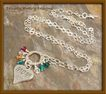CUSTOM DESIGNED: Mother & Grandmother Necklace - Sterling Silver and Birthstone Swarovski Crystal