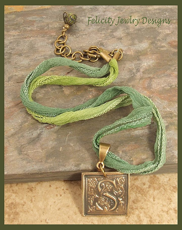 Bronze Ribbon Chandelier