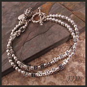 SALE PENDING Sterling Silver Name Bracelet